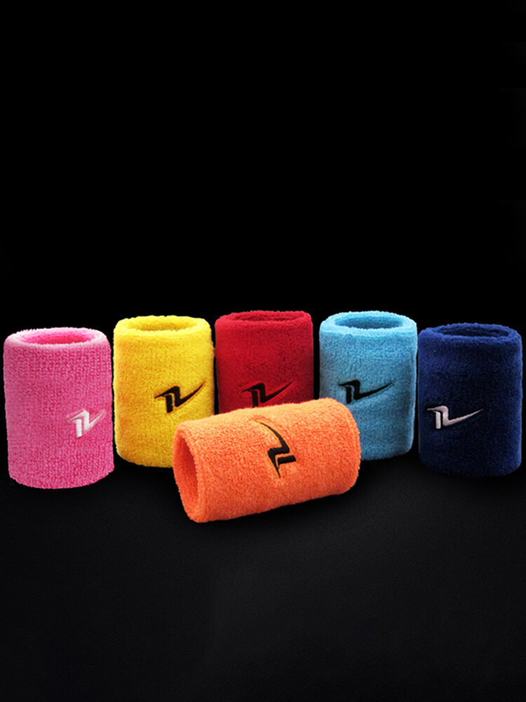 Men Women Sports Cotton Breathable  Wrist Support Ball Game Fitness Wrist Protector