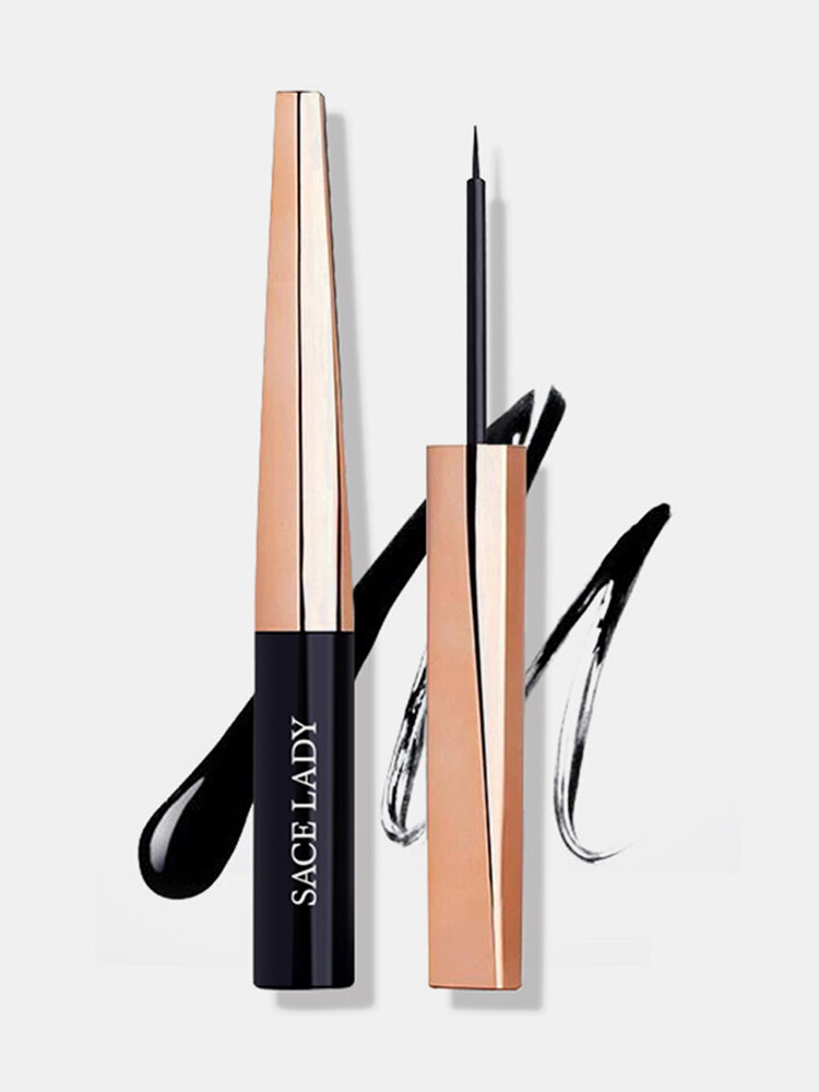 Liquid Eyeliner Pencil Long-Lasting Waterproof Sweat-Proof Quick-Drying Eye Makeup Tool