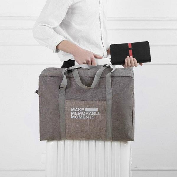 ナイロン荷物バッグ大容量旅行収納バッグ屋外必需品光収納バッグ