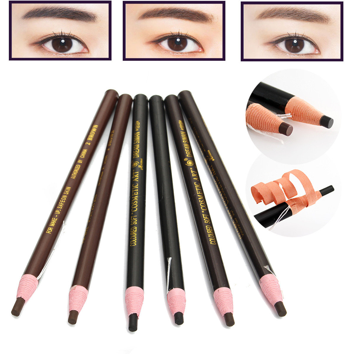 12PcsSet_Eyebrow_Pencil_Eyeliner_Cosmetic_Permanent_Makeup_Waterproof_Tattoo