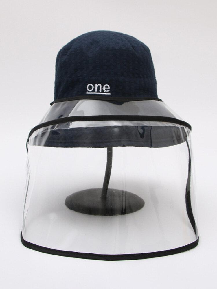 Chapeau de pêcheur anti-éclaboussures Lunettes de protection réversibles Visière pare-soleil amovible