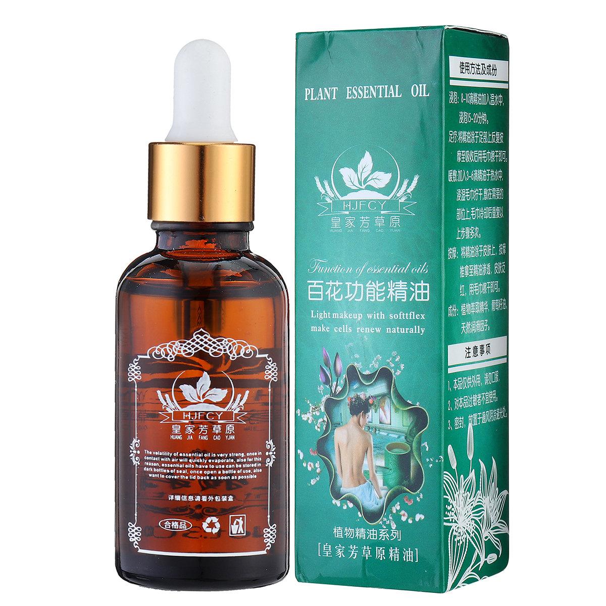 30ml Body Massage Essence Oil Natural Plant Essential Guasha SPA Massage Oil Moisturizing Body Care