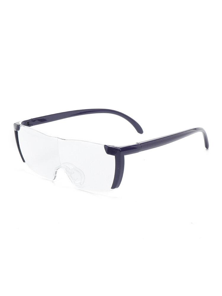 Womens Mens Anti-fatigue Wear-resistant Fashion Vintage Light Square Reading Glasses