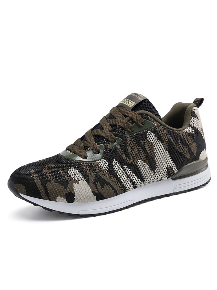 Women Camouflage Mesh Slip Resistant Casual Athletic Sneakers