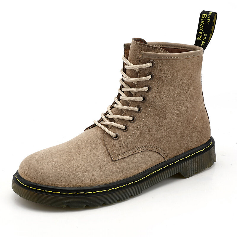 Men Classic Work Style Outdoor Slip Resistant Ankle Boots