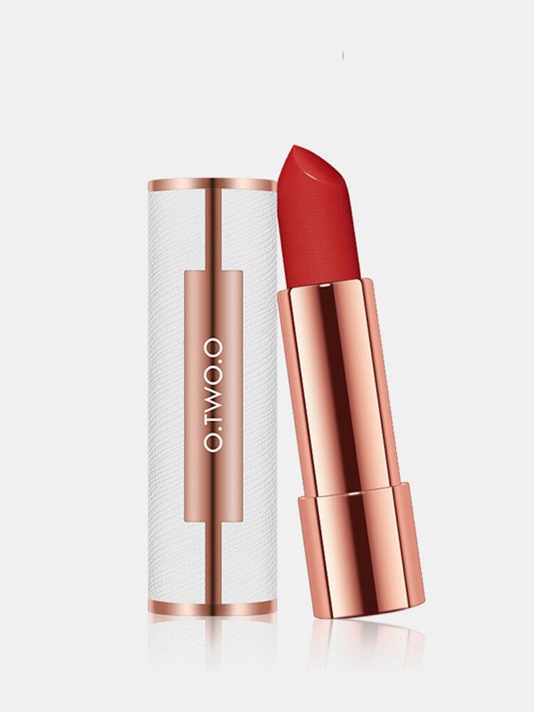 12 Colors Matte Lipstick Nude Moisturizing Non-Stick Cup Non-Fading Lasting Lip Makeup