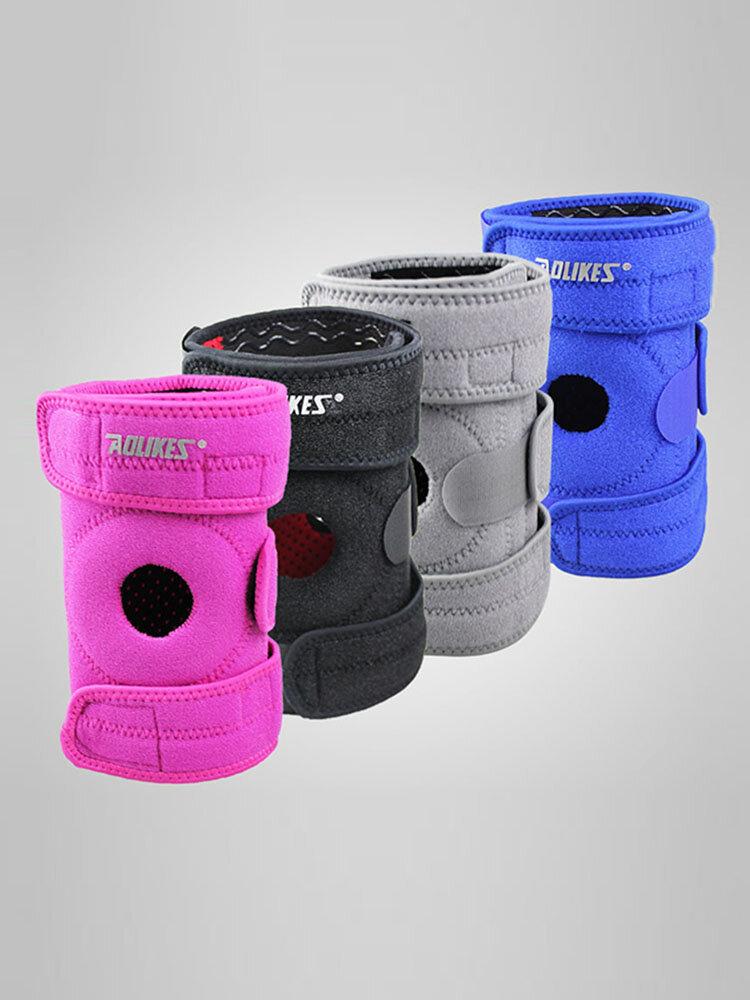Unisex Adjustable Elastic Knee Pad Support Sports Comfortable Breathable Knee Protector
