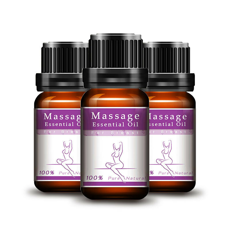 Lanthome Natural Breast Enhancement Massage Essential Oil Firming Big Bust Beauty Breast Enlarge