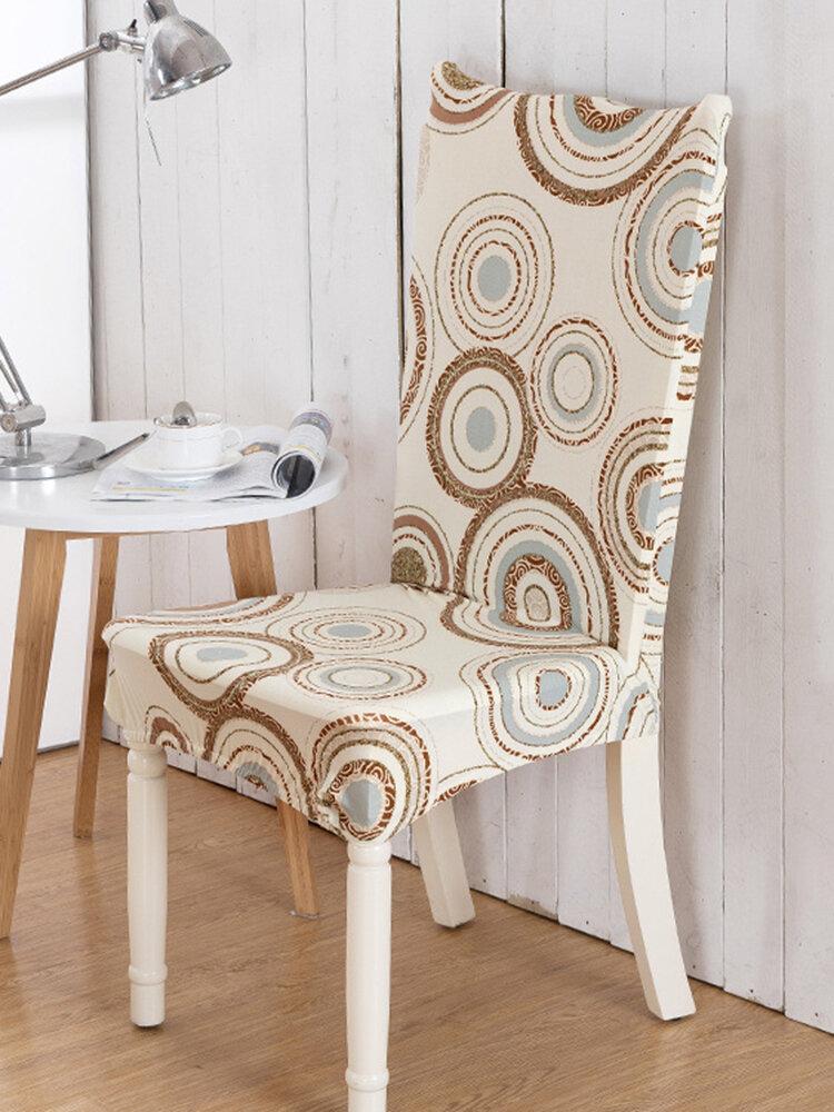 Elegant Plush Flower Elastic Stretch Chair Seat Cover Computer Dining Room Home Wedding Decor