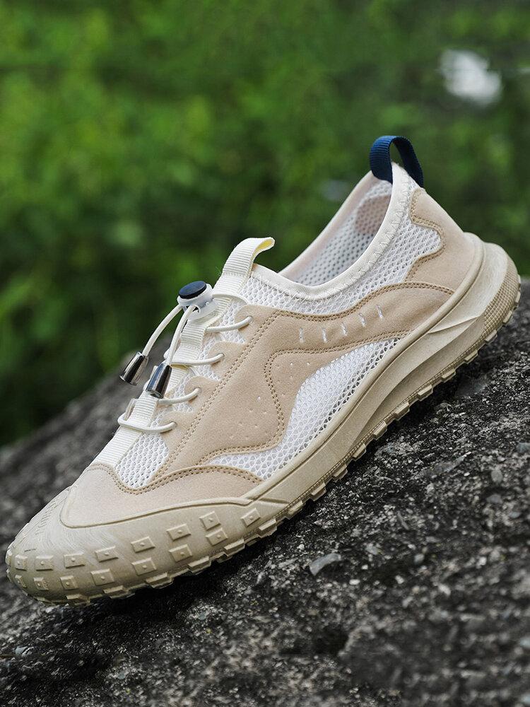 Men Anti-collision Mesh Non Slip Breathable Outdoor Casual Shoes