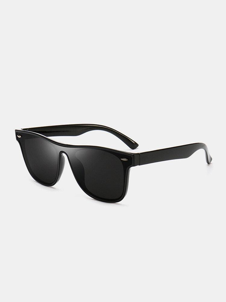 ユニセックスPCフルフレームUV保護サンシェードアウトドアファッションサングラス