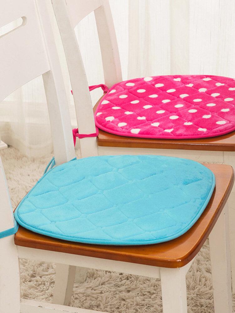 Memory Cotton Soft Chair Cushion Car Office Mat Comfortable Buttocks Cushion Pads Home Decor