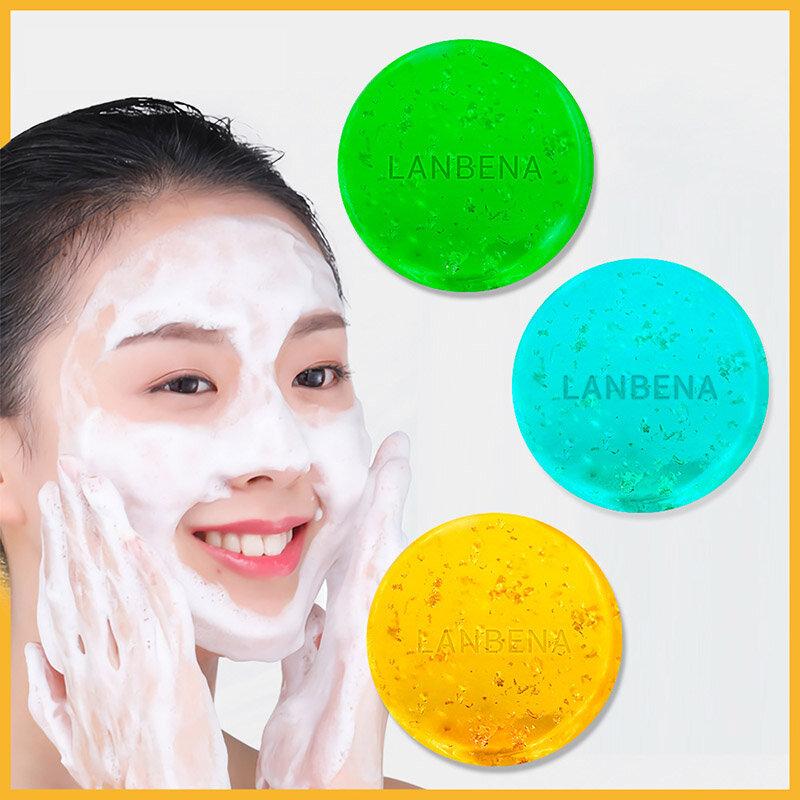 Handmade Soap Seaweed Deep Cleaning Face Moisturizing Acne Treatment Repair Whitening Anti-Aning Skin Care