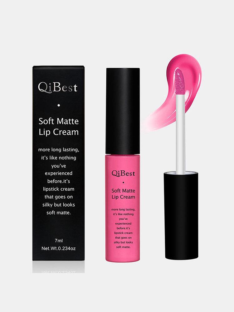 34 Colors Matte Lip Gloss Nude Long Lasting Waterproof Non-Fade Non-Stick Cup Liquid Lip Glaze