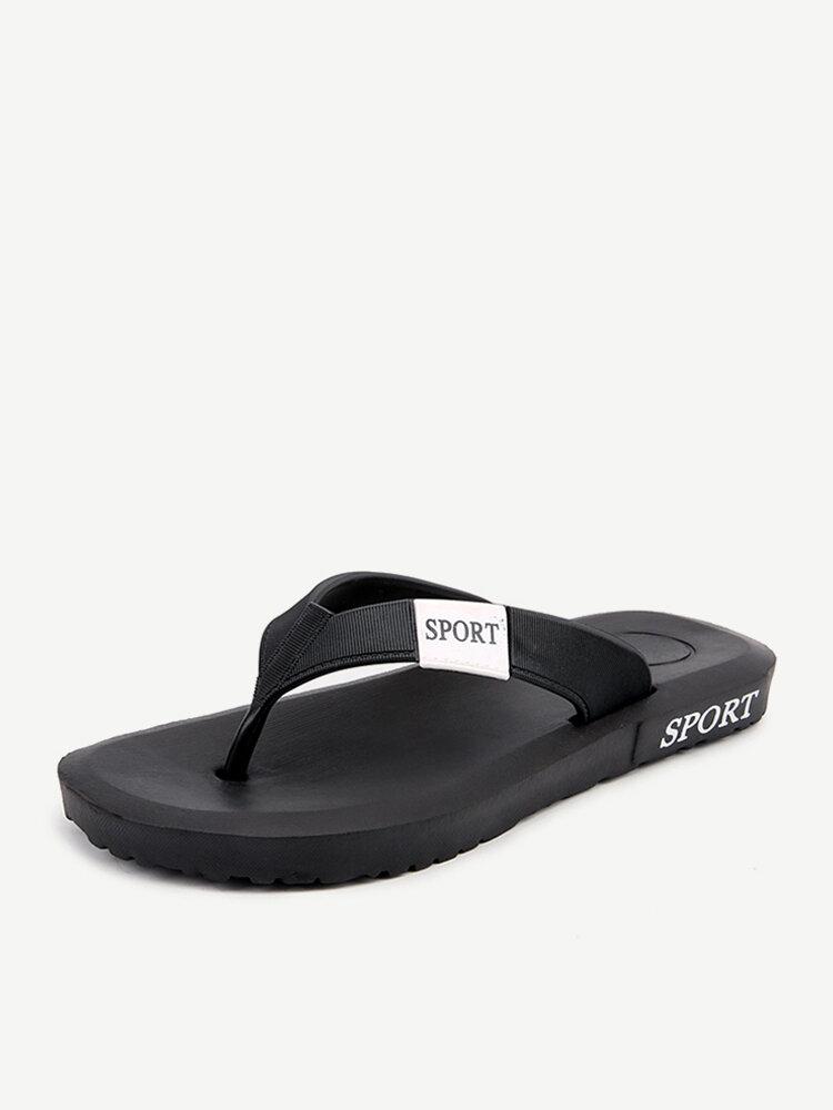 Männer Clip Toe Slip Resistant Hausschuhe Lässige Strandschuhe