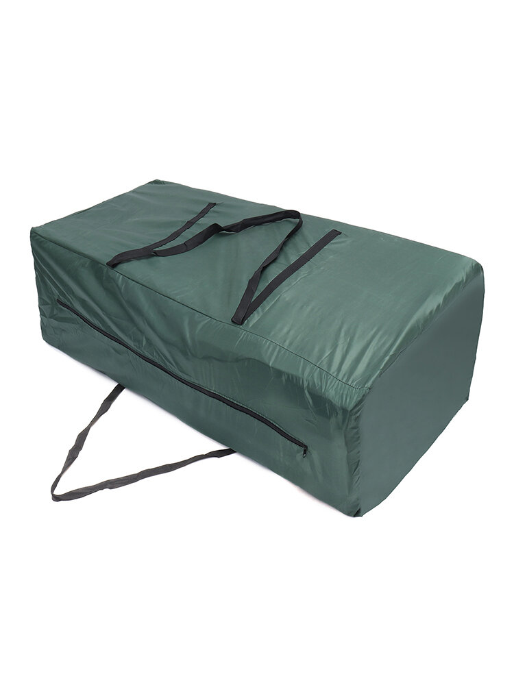 Heavy Duty Waterproof Garden Furniture Cushion Storage Bag Carry Cover Pouch Zip
