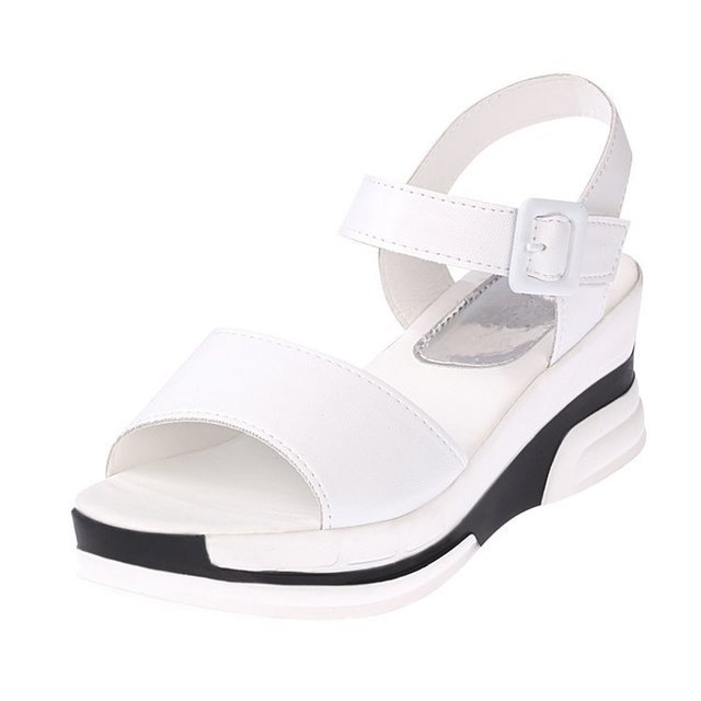 Women Thick-soled Open Toe Casual Sandals