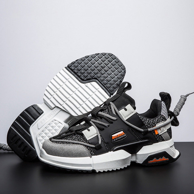 Fashion Week Plate Wild Ancient Trend Casual Shoes New Old Shoes Men's Sports Shoes Fashion Platform Men's Shoes