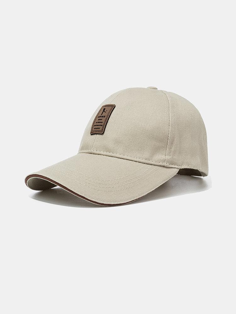 Visor Cotton Baseball Caps Outdoor Adjustable Sports Hat Leisure Baseball Caps