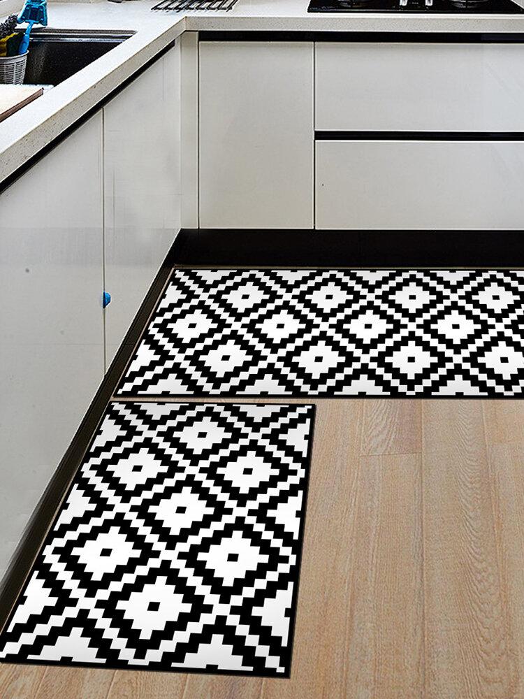 Alfombra de puerta antideslizante suave Alfombra Alfombra Alfombra de piso de cocina Interior al aire libre Decoración