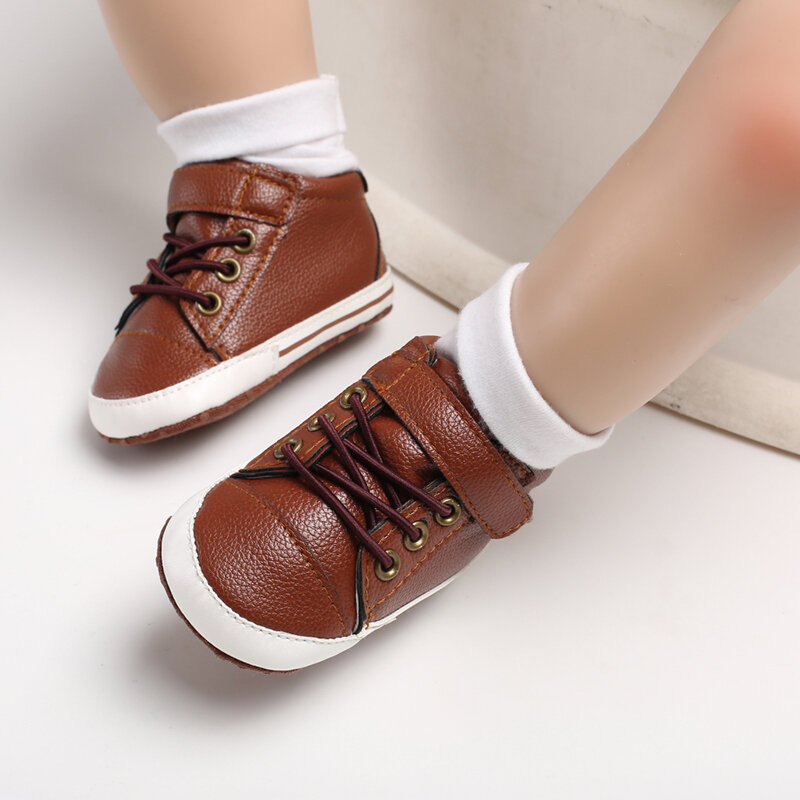 Baby Toddler Shoes Non Slip Soft Hook Loop Casual Shoes
