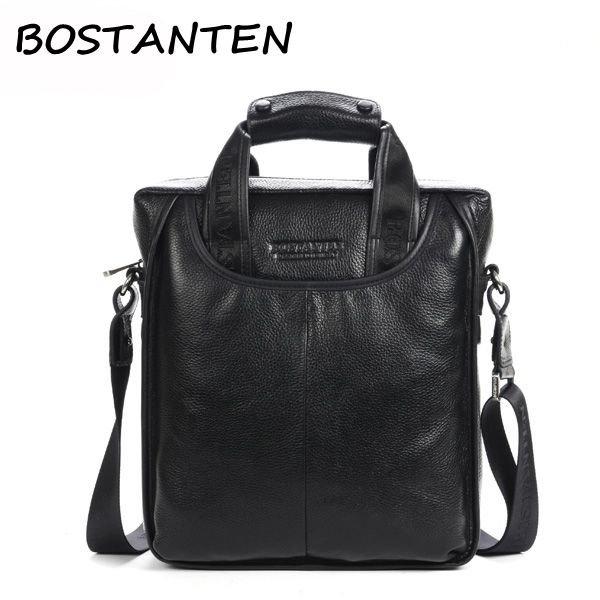 BOSTANTEN Brand Men Business Casual Handbag Leisure Crossbody Bag