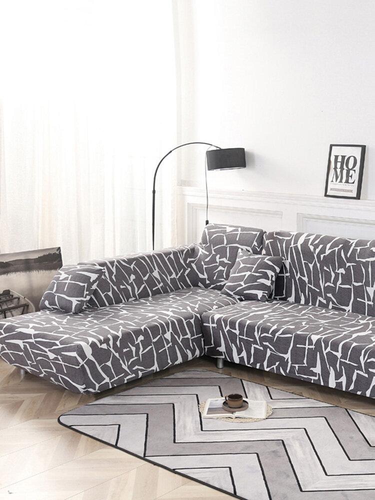 KCASA 1/2/3/4 Fundas de asiento Sofá elástico Funda de sofá Funda de sillón Funda para sala de estar Hogar