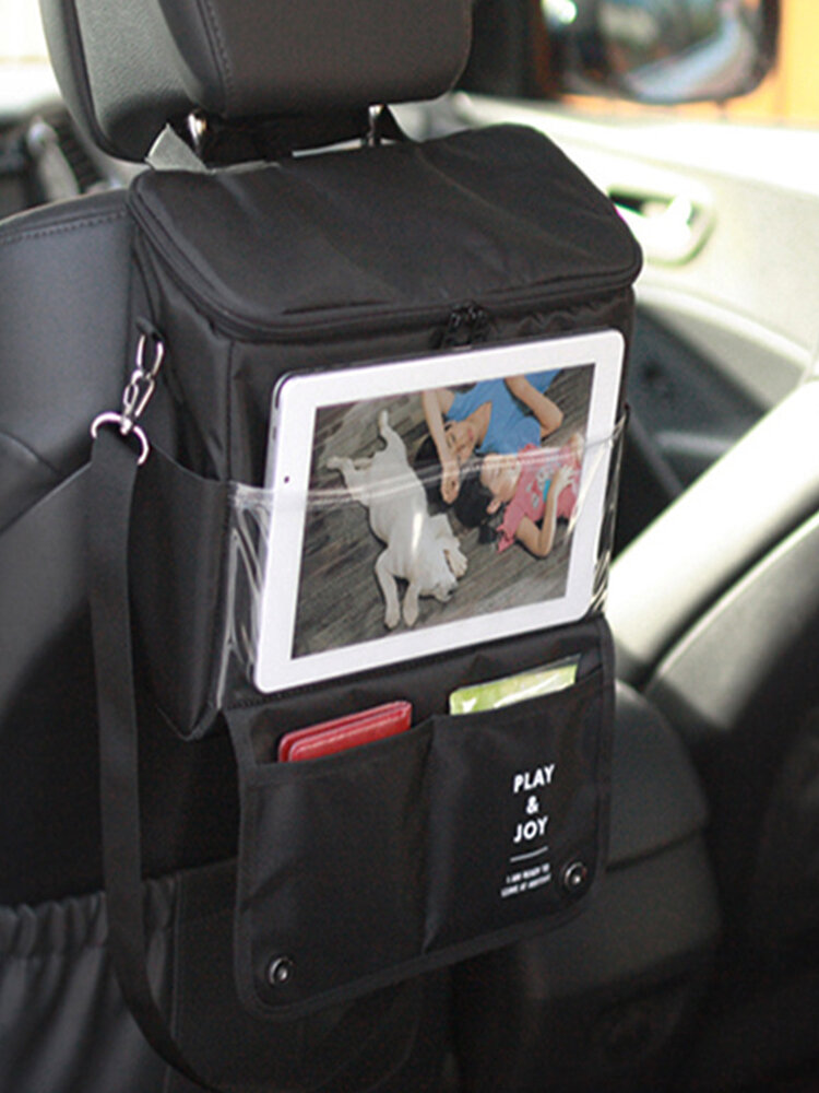 Honana HN-X1 Multifunktionale Autositz-Aufbewahrungstasche Food Drink Heat Preservation Picknicktasche