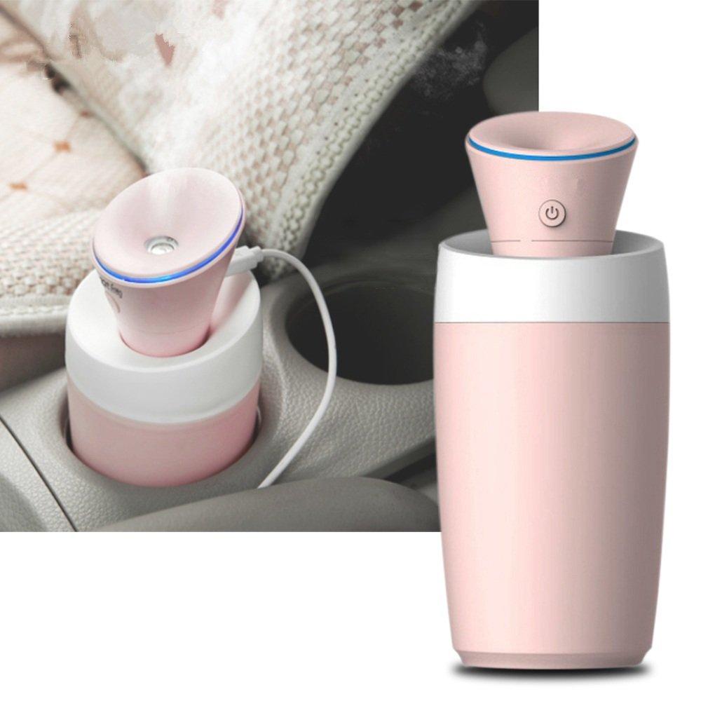 USB Charging Mini Mist Air Humidifier Car Home Low Noise Diffuser