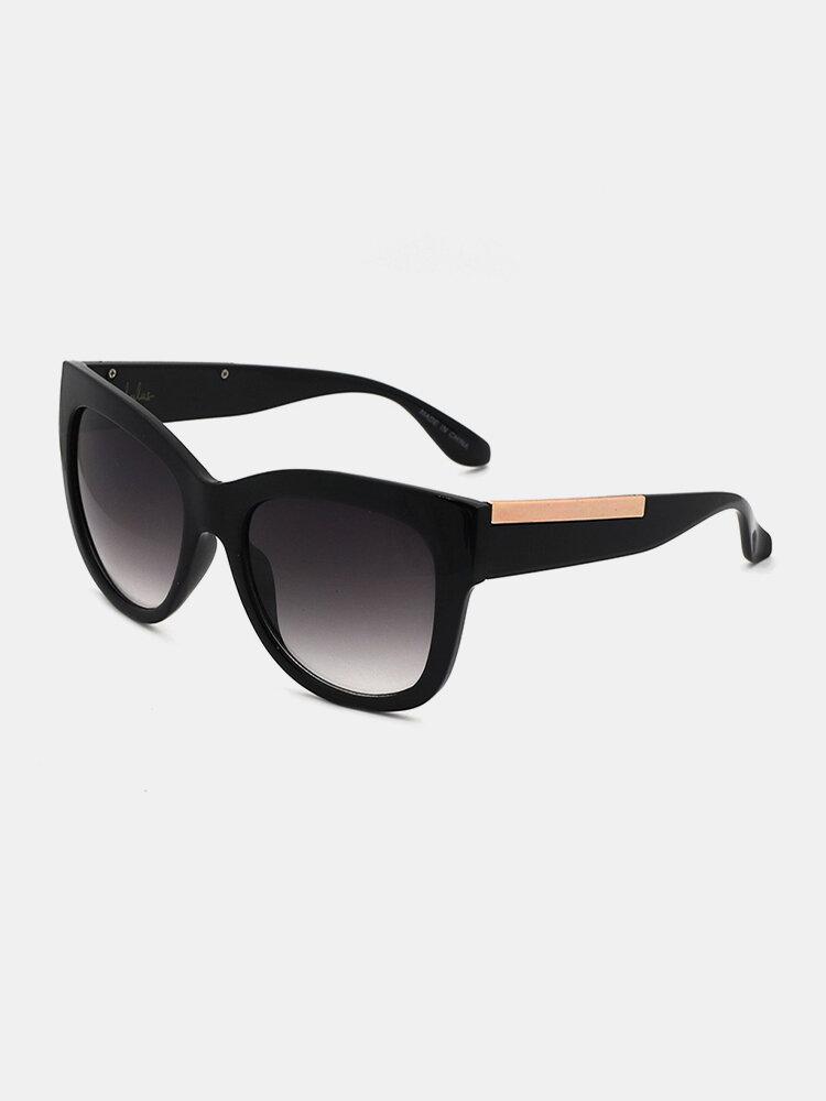 Women And Men Fashion Casual Wide Side Full Frame Anti-UV Sunglasses