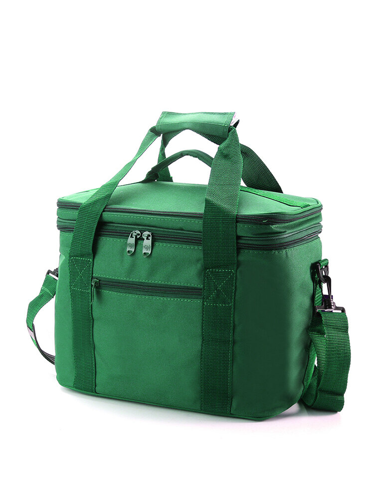 Picnic Bag Aluminum  Insulation Bag Lunch Large Double Ice Pack Lunch Box Bag Takeaway Lunch Bag