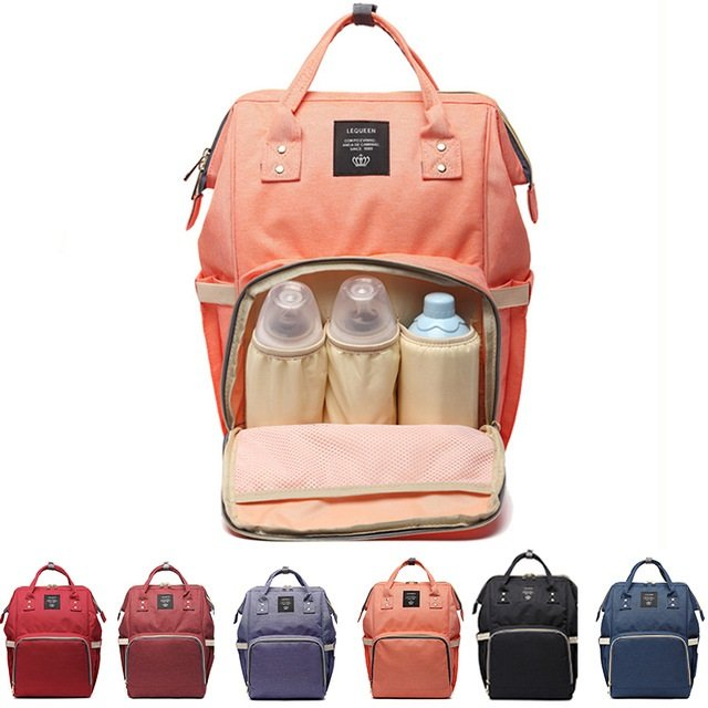 5d7f9edb338cf Baby Diaper Nappy Backpack Large Capacity Waterproof Nappy Changing Bag  Baby Care Mother Organizer