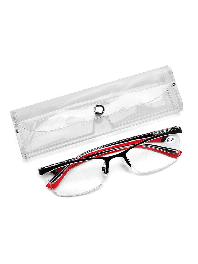 Мужская женская полуободка Очки защищает глаза прочное чтение высокой четкости Очки