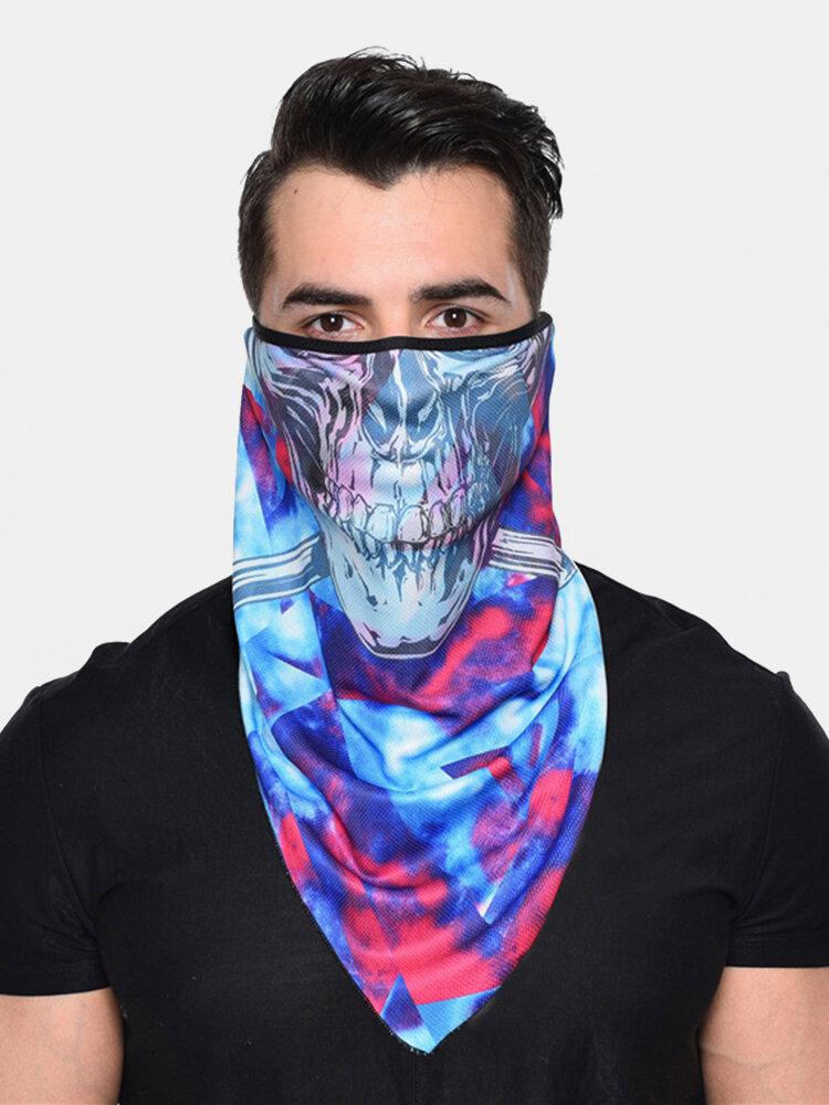 防風性日焼け止め速乾性通気性乗馬マスク