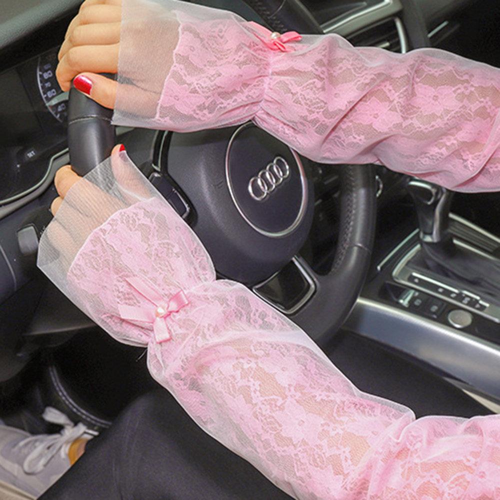 Женский солнцезащитный козырек от вождения Sun Protection Sport Перчатки Рукава для покрытия рук Перчатки