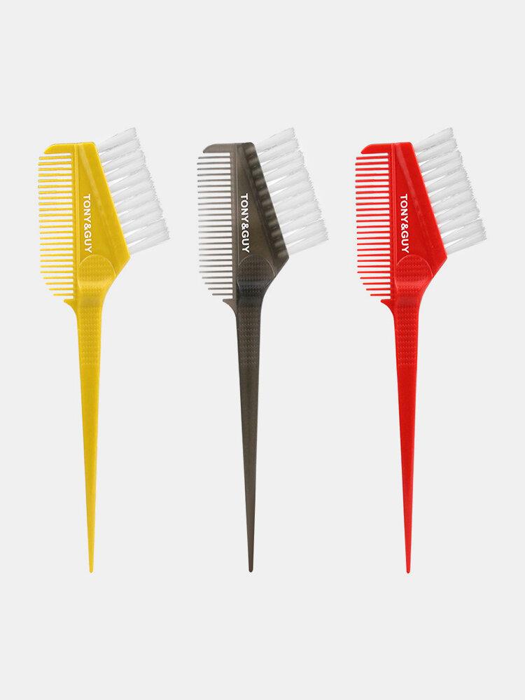 Dual Use Dye Hair Comb Salon Barber Dye Hair Brush Hairdressing Tools