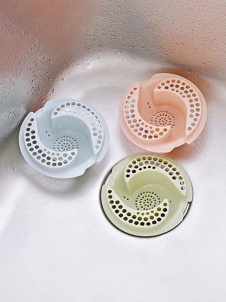Creative Filter Kitchen Sink Floor Drain Cover Bathroom Sink Anti-clogging Filter Diversion Type
