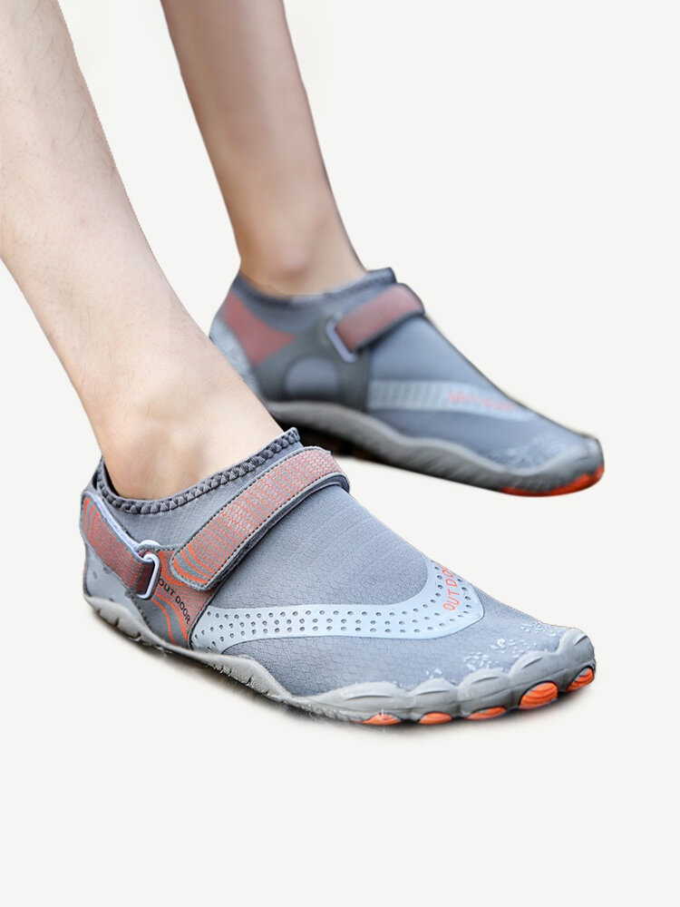Men's Outdoor Fabric Mesh Non Slip Quick Drying Beach Water Diving Shoes