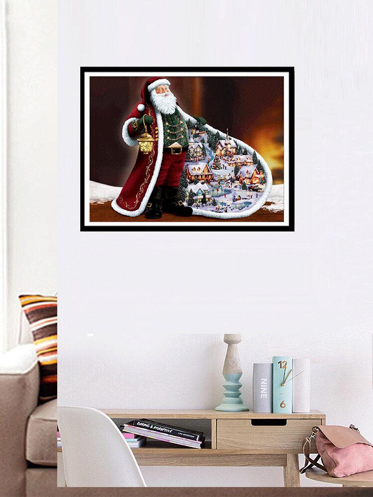 Weihnachtsmann DIY 5D Diamant Stickerei Gemälde Strass Weihnachtsdekoration