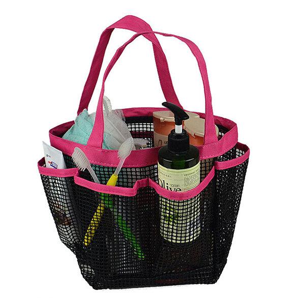 Home Plastic Swimming Storage Bag Bath Kit Toiletry Bag Cosmetic Bag