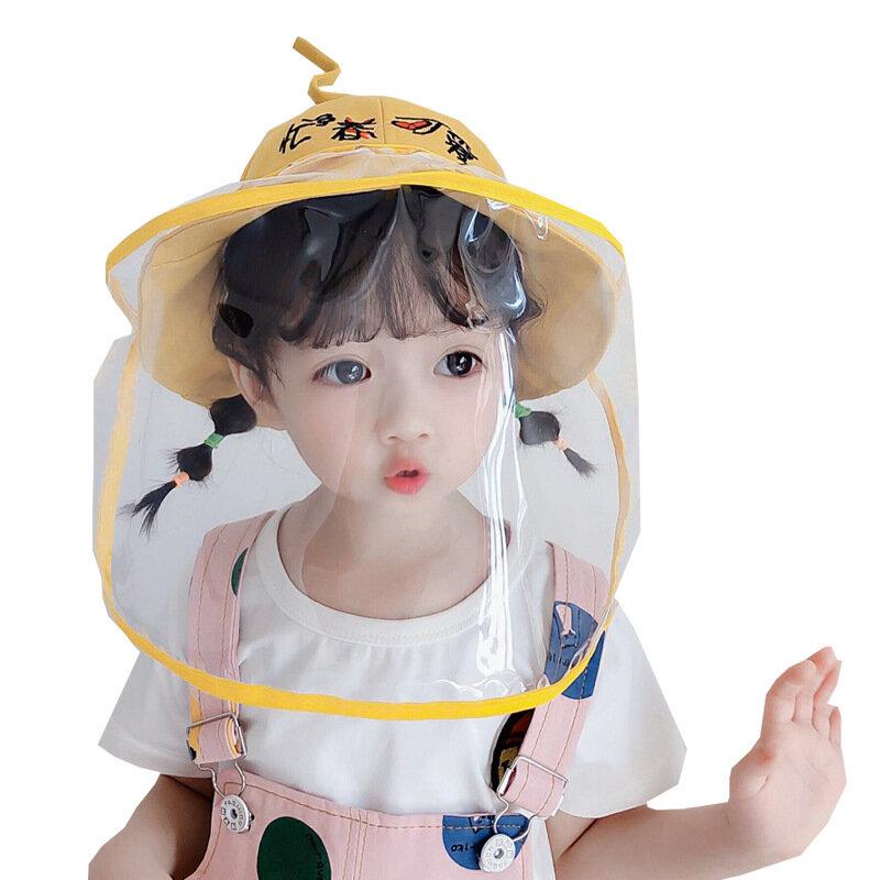 Protective Hats Anti-foam Isolation Basin Hat Children Fisherman Safety Sun Hat