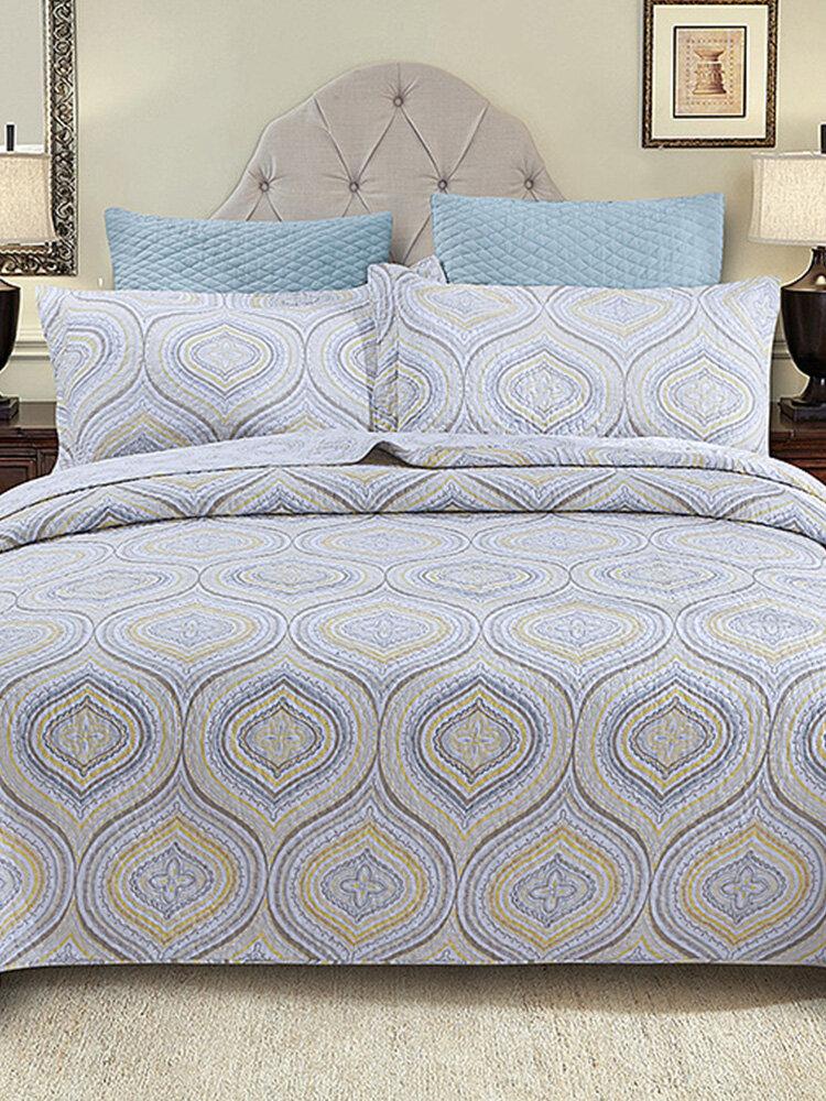 3Pcs Home Textiles Home Textiles Bedding Set Pure Cotton Air Conditioning Quilt Bed Cover
