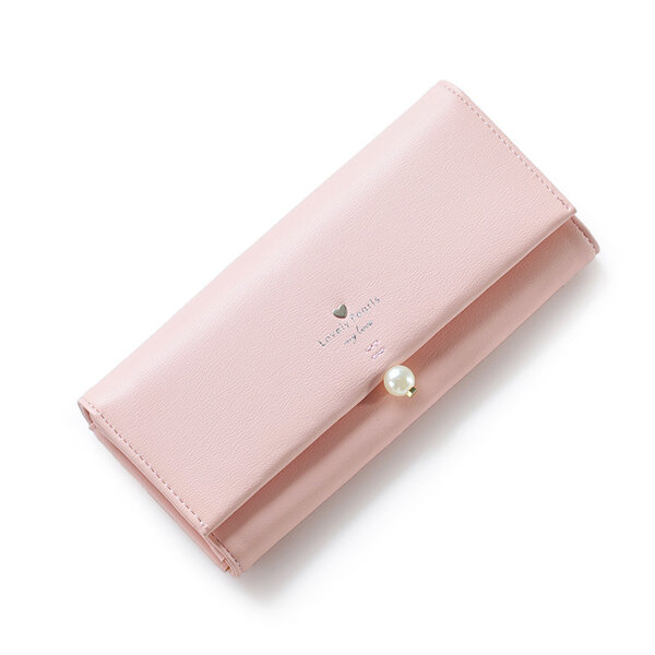 Women Pendant Pu Leather Wallet Casual Shopping Must-have High-end Wallet Purse