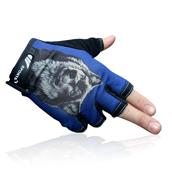 Men Women Half-Finger Fishing Gloves Summer Thin Breathable Anti-Skid  Outdoor Sports Driving Gloves