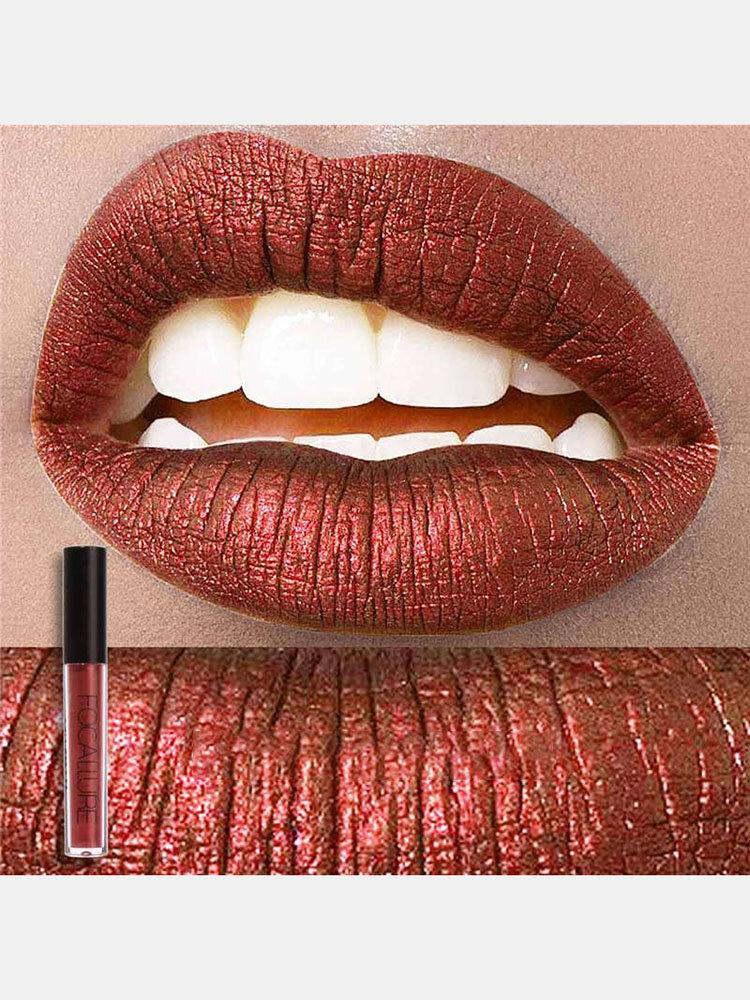 25 Farben Matter Lipgloss Langlebige wasserdichte Antihaft-Schale Lip Glaze Lip Cosmetic