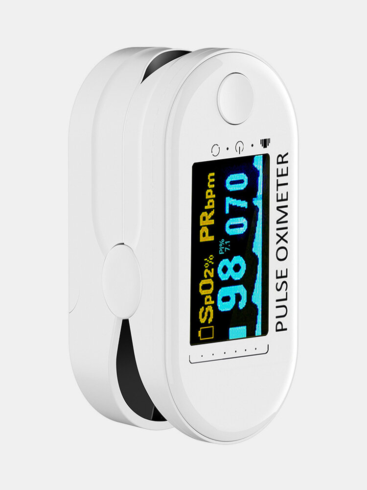 Finger-Clamp HD OLED Pulse Oximeter Finger Blood Oxygen Saturometro Heart De Oximeter Portable Pulse Oximetro Monitor