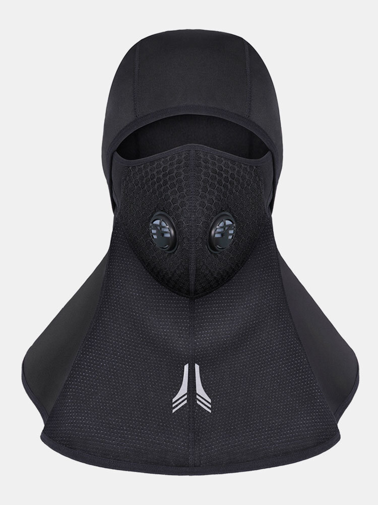 Mens Thick Winter Face Neck Warm Breathable Waterproof Windproof Outdoor Ski Riding Face Mask Cap