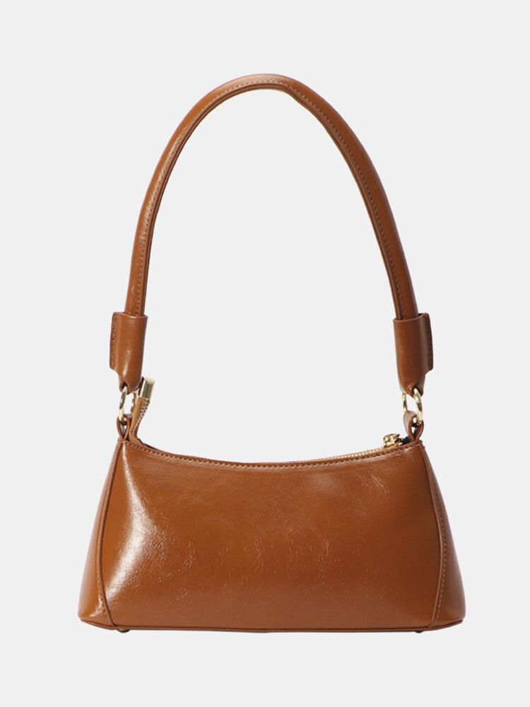 Винтажная Масло Многофункциональная сумка из восковой кожи Сумка