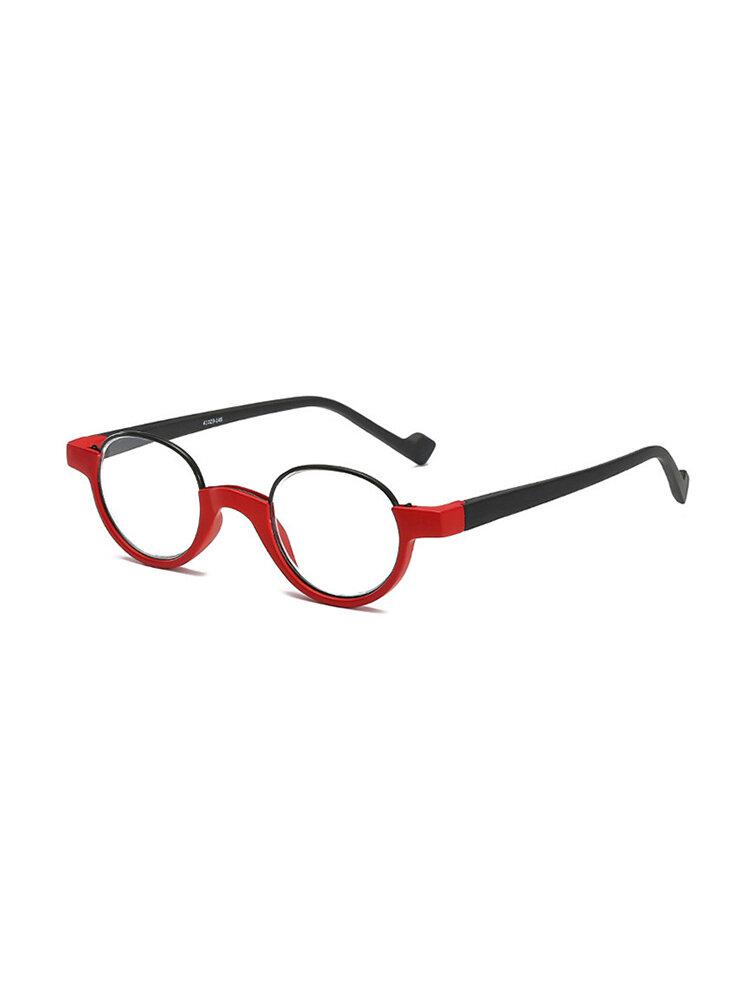 Women Men Full Frame Metal Legs Thin Firm Fashion Comfortable Reading Glasses