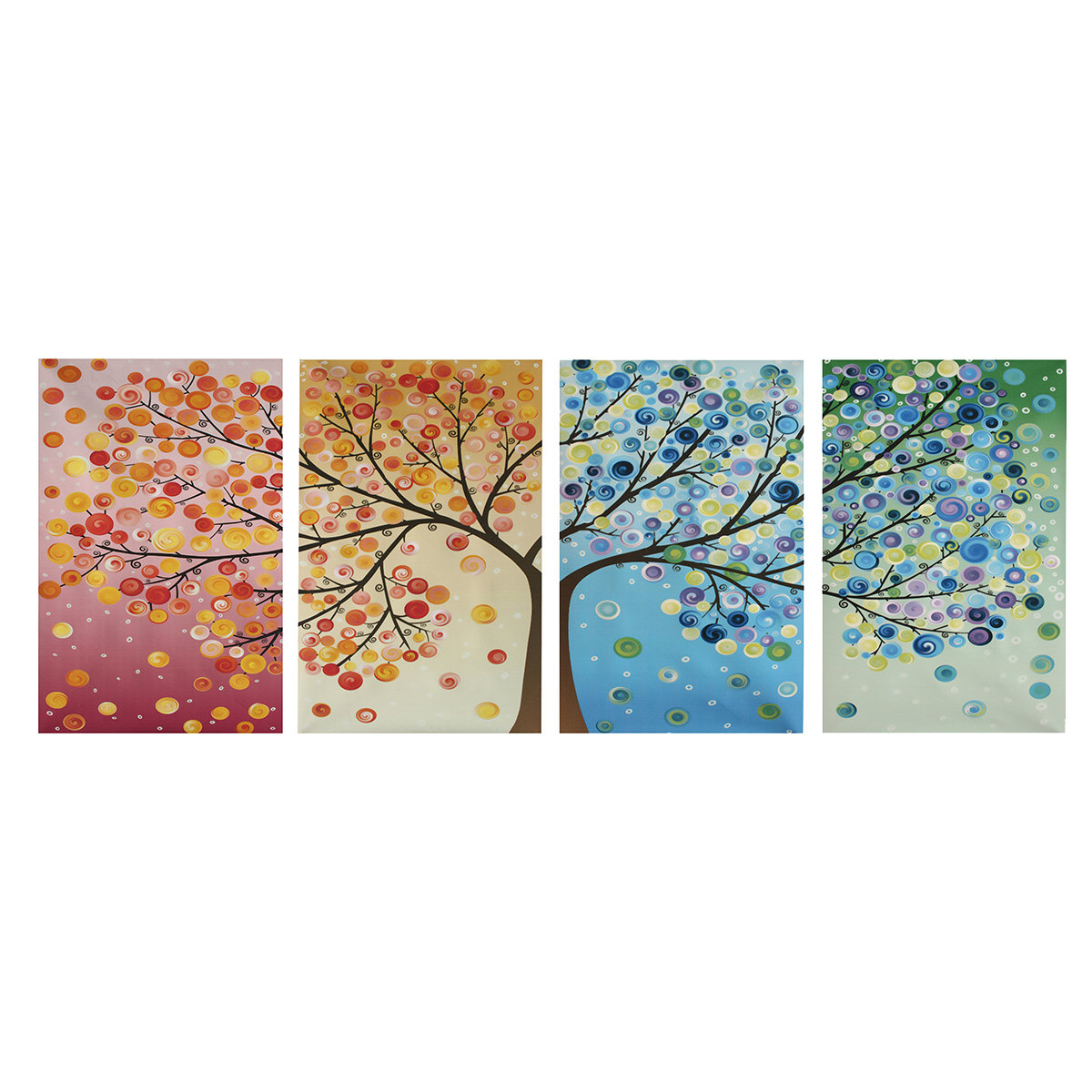 4pcs Canvas Wall Art Painting Pictures
